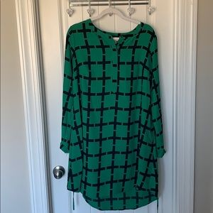 Business casual dress with pockets Large